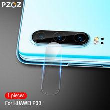 PZOZ dla Huawei P20 P30 Honor 8X 9X Mate 20 Pro Lite X 20X obiektyw kamery filmowej jasne szkło hartowane aparat ochronny Film 9H HD(China)
