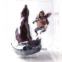 Luffy Figura de Ação de uma Peça Da Engrenagem 4 Monkey D Luffy Engrenagem Quatro PVC Collectible Toy Modelo(China)
