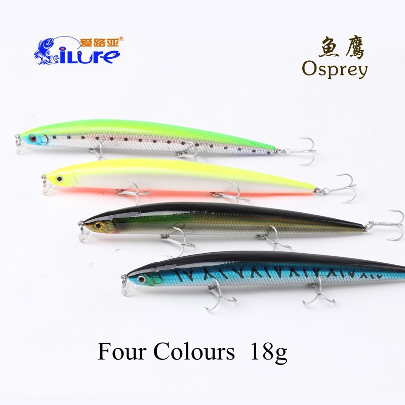 2015 ILURE diving 1m lipless minnow fishing lure 15cm/18g bait artificial hard wobbler tackle ilure brand - Weihai I LURE Fishing Tackle Co.,Ltd. store