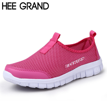 HEE GRAND Brand 2016 New Summer Casual Shoes Woman Network Soft Breathable Shoes Drop Shipping XMR199