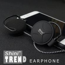 shiniQ940 бесплатная доставка, наушники 3,5мм с фиксацией вокруг уха для mp3 плеера/mp4/mp5/мобильного телефона/ПК