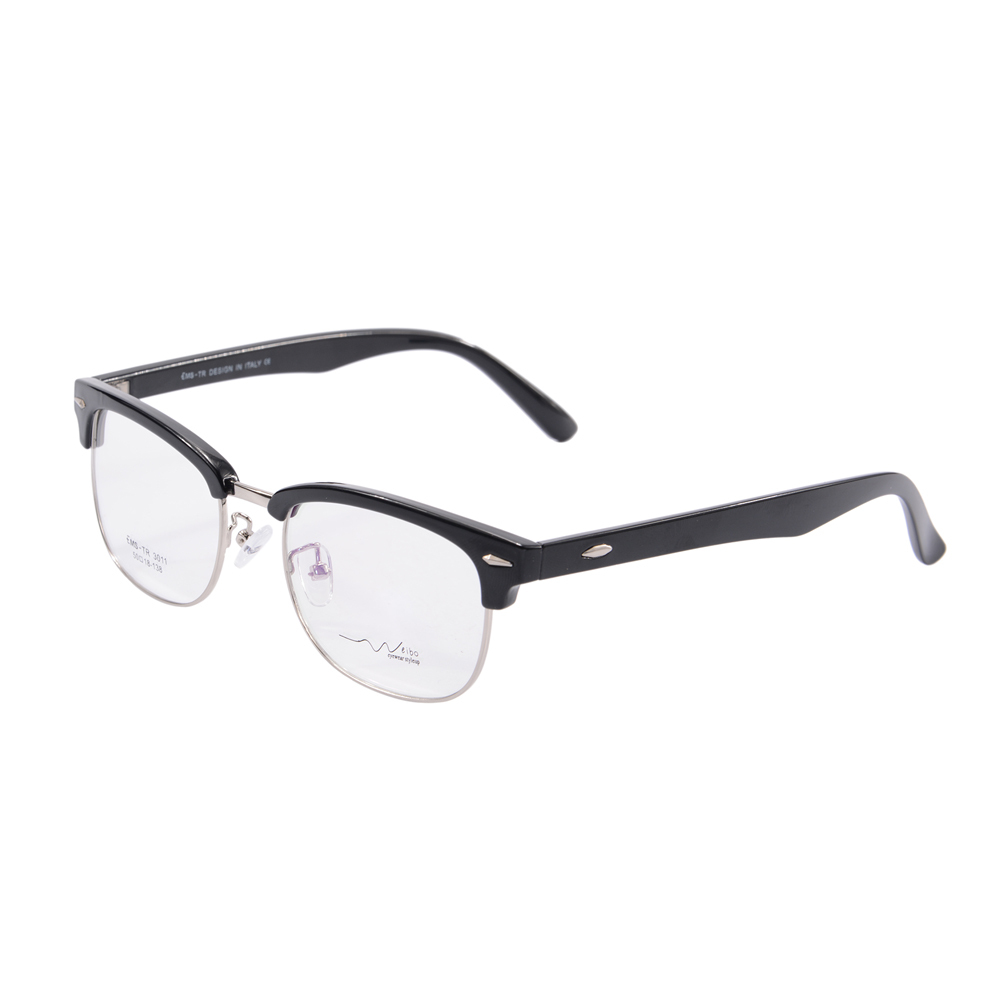 half rim glasses frame 2015 optical eyeglasses spectacle eye glasses frames myopia frame oculos de grau tr3011