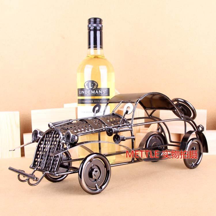 Webworm style red wine rack wine rack fashion personality vintage wine cooler decoration(China (Mainland))