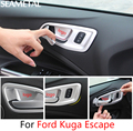 For Ford Kuga Escape 2013 2014 2015 2016 2017 Car Door Bowl Cover Stickers Internal Decoration