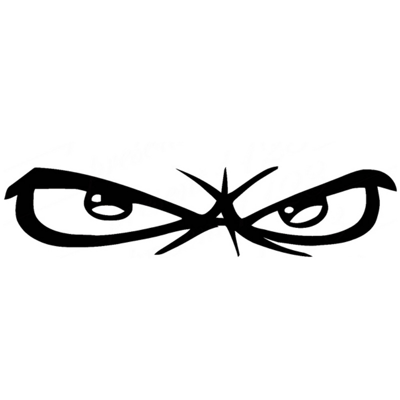 angry eyes stickers promotionshop for promotional angry