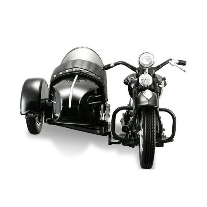 Classic Alloy diecast 1/18 Motorcycle Model for Harley-Davidson three-wheeled Sidecar by Maisto Collection/Toy/Gift(China (Mainland))