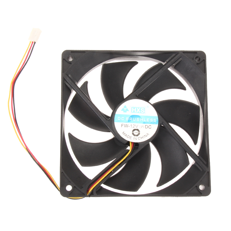 100% brand new Mini Brushless PC Computer Case Cooling Fan Low Noise For CPU Radiating For Desktop PC(China (Mainland))