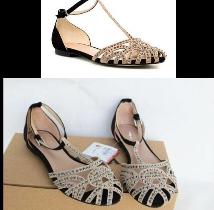 Hot-selling 2015 women sandals flip flops rhinestones shoes flat heel female - Led Shoes store