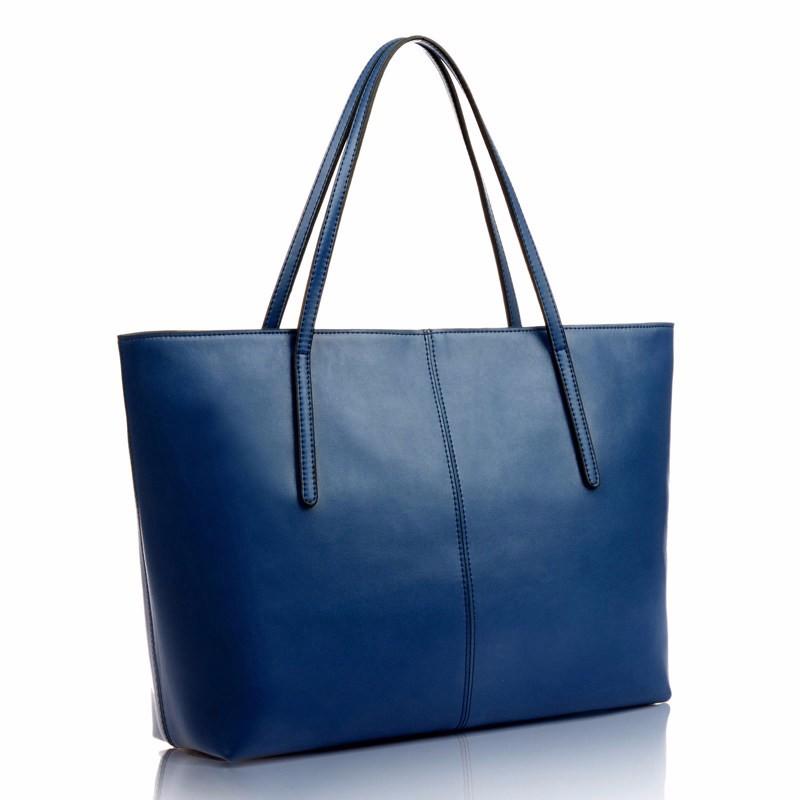 Durable PU Tote Designer Simple Thin Straps Women Shoulder Bag Utilitarian Large Capacity Ladies Concise Large Shoulder Bag