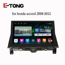 "E-tong 10.1"" Android 4.4 Car Autoradio Audio GPS Navi Navigation Video For Honda Accord 8 2008 2009 2010 2012 Stereo DVD(China (Mainland))"