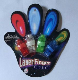 2014 world cup Free shipping Laser Finger Light LED Light Laser Finger Lamp Beams Ring Torch For Party(China (Mainland))