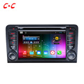 Quad Core HD 1024X600 Android 5 1 1 Car DVD Player for Audii A3 with Radio