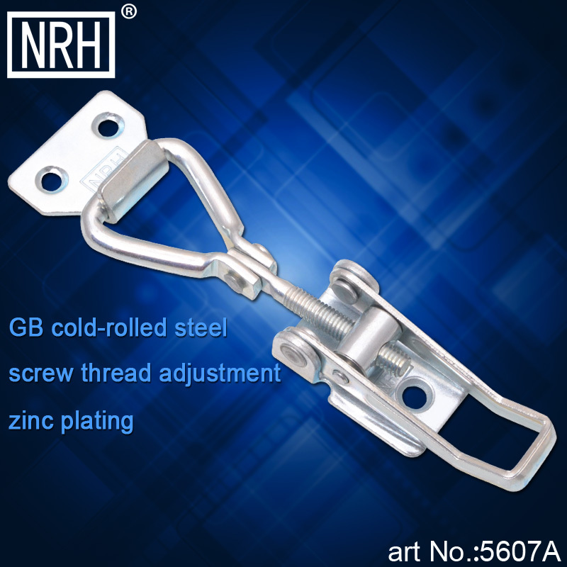 NRH 5607A GB cold-rolled steel latch clamp pull action clamp Mechanical cabinet high quality adjustable toggle Clamp hasp(China (Mainland))