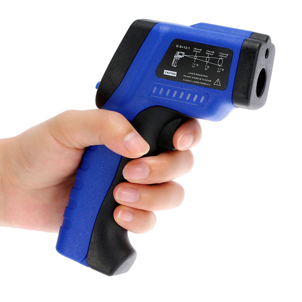 Handheld LCD Laser IR Infrared Thermometer Non-Contact Digital termometro Diagnostic-tool Temperature Tester Pyrometer -50C~420C(China (Mainland))