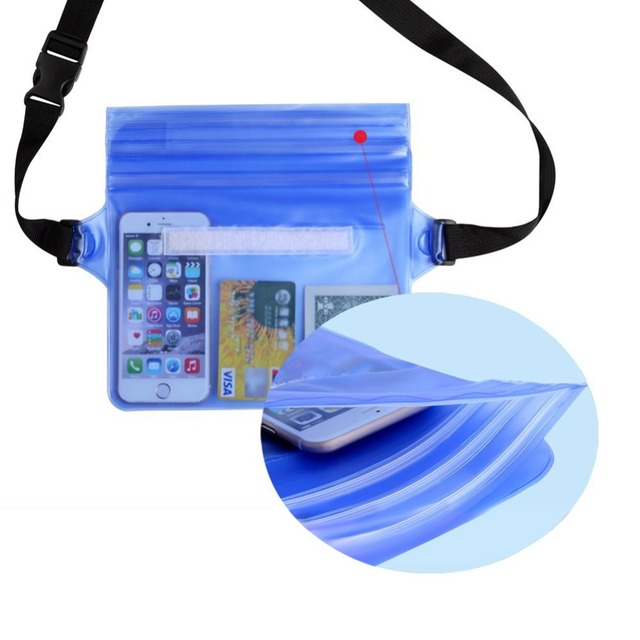 Durable Waterproof Bag with Waist Strap