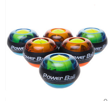 Sports Pro Plus Gyro Wrist Exerciser Gyroscope PowerBall Gyro Power Ball LED Glow Wrist Ball(China (Mainland))