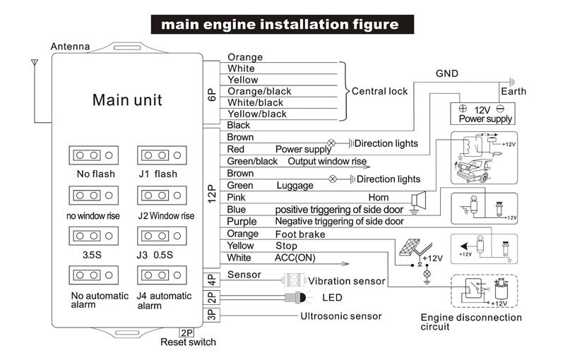 Avs Alarm Wiring Diagram. Avs. Wiring Diagram Instructions