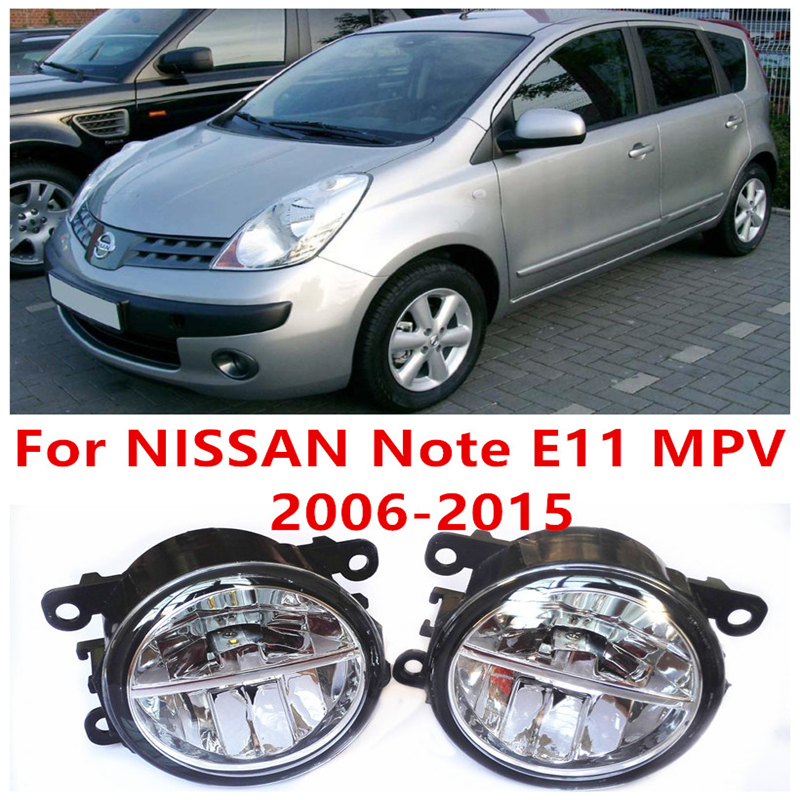 For NISSAN Note E11 MPV  2006-2015  10W Fog Light LED DRL Daytime Running Lights Car Styling<br><br>Aliexpress