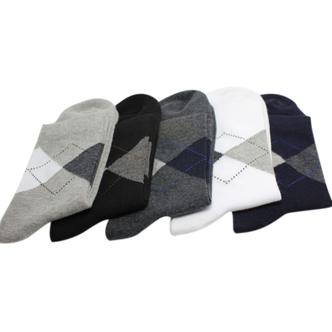 Fashion New 5pairs/lot Men Socks Autumn Winter Warm Breathable Cotton Socks Casual Classic Business Male Socks 5 Colors