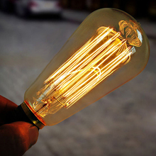 Edison bulbs restoring ancient ways The industrial revolution style lamps halogen bulbs E27 interface(China (Mainland))