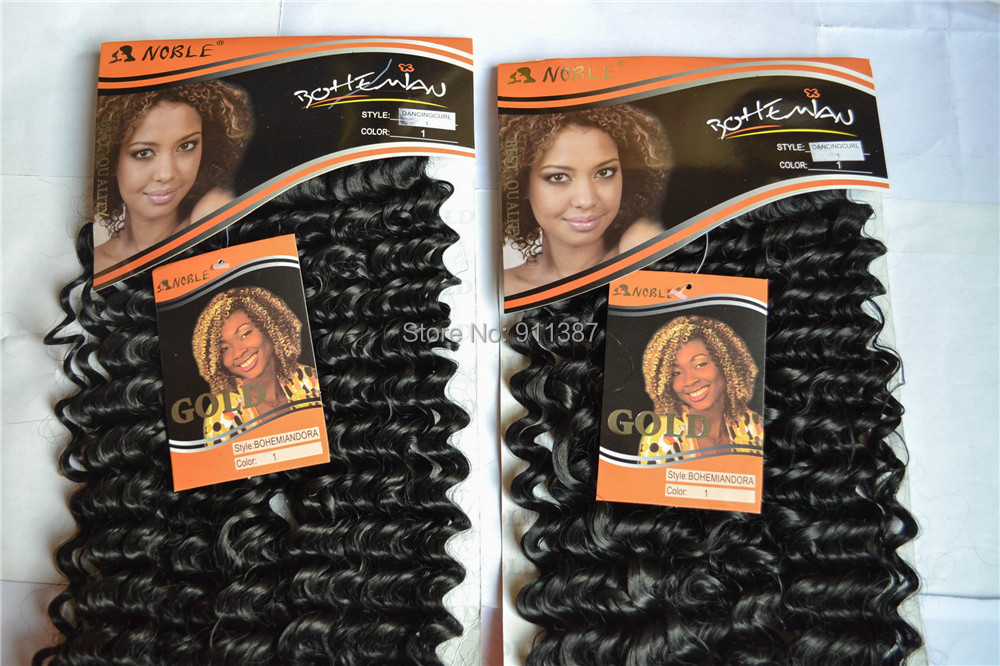 braiding hair noble gold synthetic weave DORA 1B# s 116inch - Beauty Lady's World store