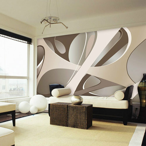 3d wall murals car interior design