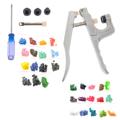 KAM Professional Fastener Snap Pliers 150pcs T3 150pcs T5 Snap Poppers Plastic Buttons Kit Random Color