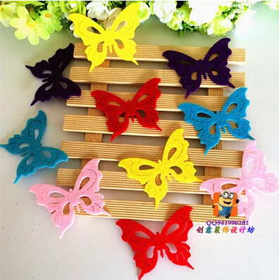 Reusable butterfly wall stickers kids rooms, DIY Child Home decor - Love green store