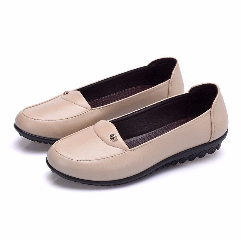 Fashion Causal Loafer Shoes Woman 2016 PU Leather Women Platform Shoes Flats Wedge Loafers Slip On Women's Flat Shoes Moccasins