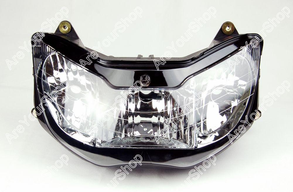 Clear Universal Motorcycle Headlight Headlamp Assembly Replacement Driving Fog Spot Moto Head Light for Honda CBR 929 2000-2001<br><br>Aliexpress