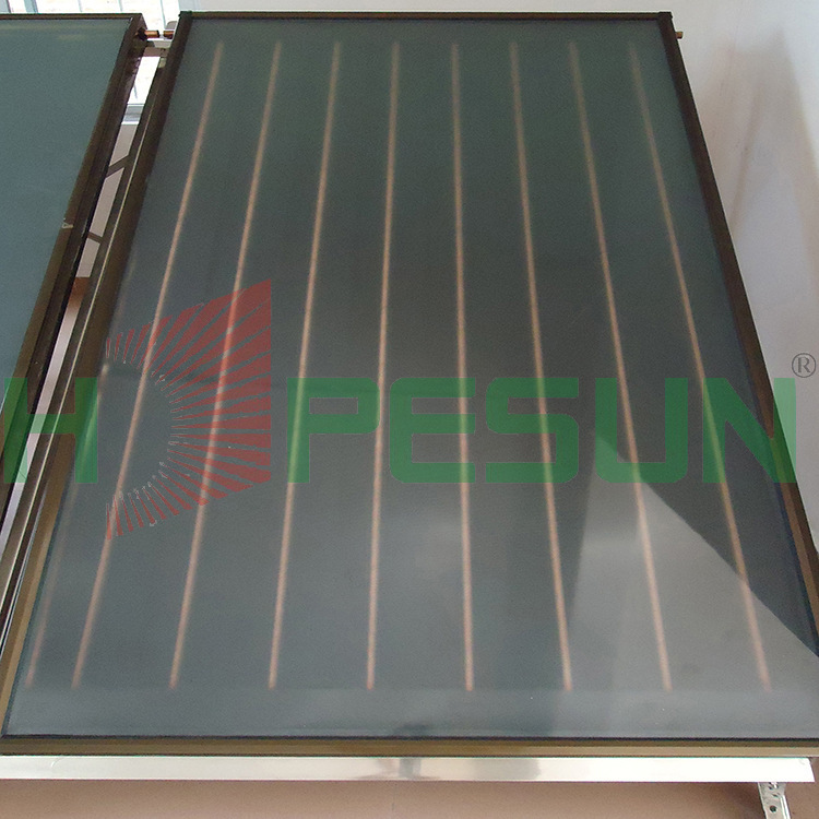 Factory direct air collector efficiency anodized ultrasonic welding flat plate collectors(China (Mainland))