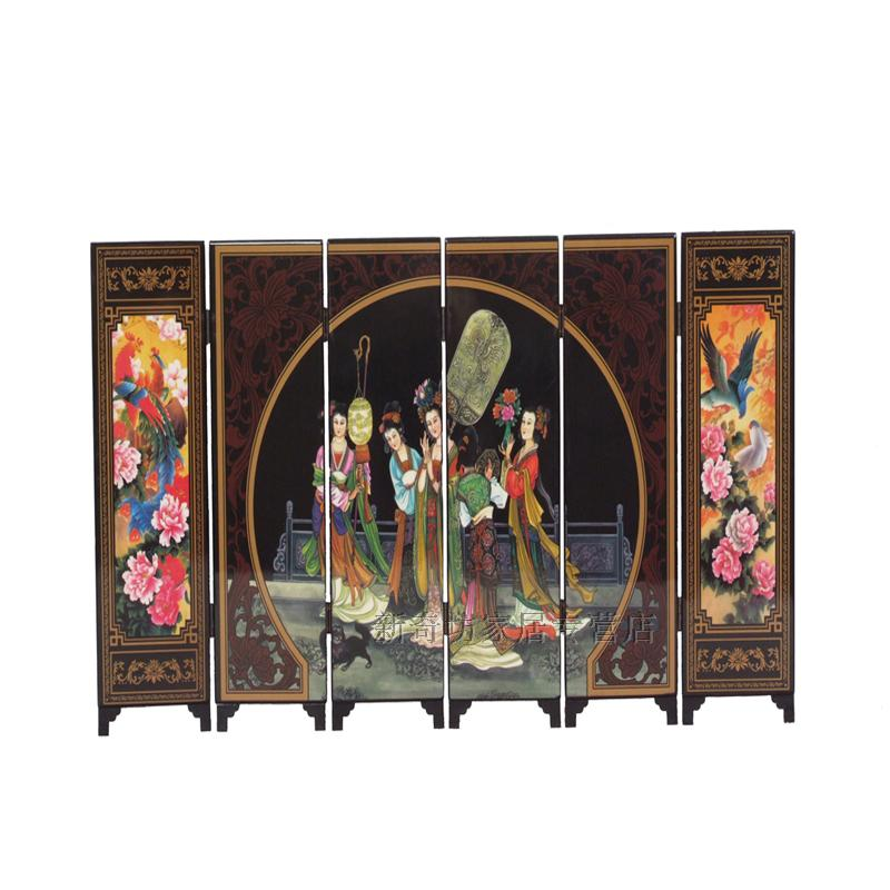 Lacquer screen unique business gift home decoration accessories new classical