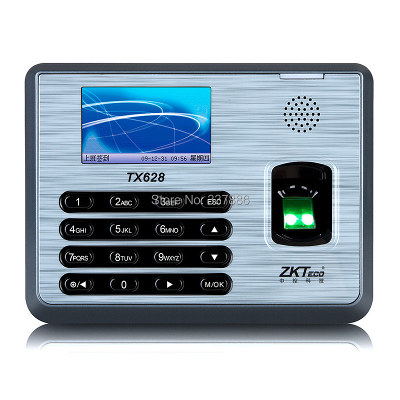 3 inches TFT Screen fingerprint time attendance  <br><br>Aliexpress