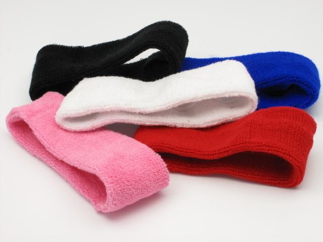 Cotton Headbands Sweatband Running Exercise sport headband assorted colors(China (Mainland))
