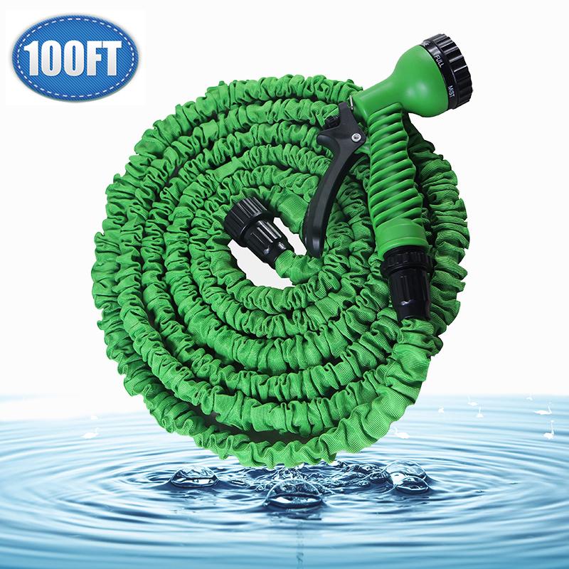 Garden Hose For Watering 30m Lightweight Flexible Hose For Garden