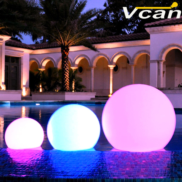 30cm Outdoor Indoor Rechargeable LED Light Ball<br><br>Aliexpress