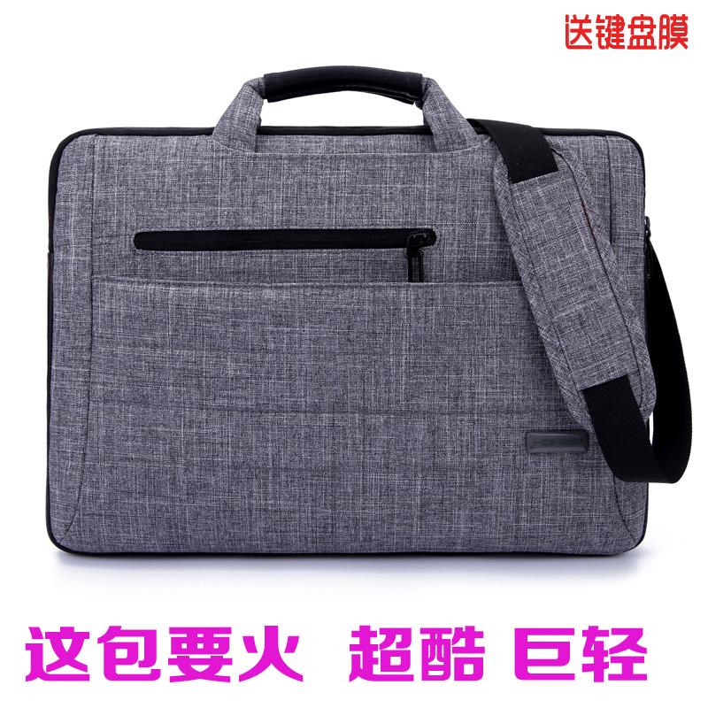New arrival one shoulder handbag laptop bag 13inch 14inch 15.6inch ultra-thin waterproof laptop bag business notebook bag(China (Mainland))