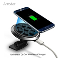 Amstar Car Wireless Charger Universal Qi Wireless Charging Bracket for Samsung S6 S7 Edge Note 4