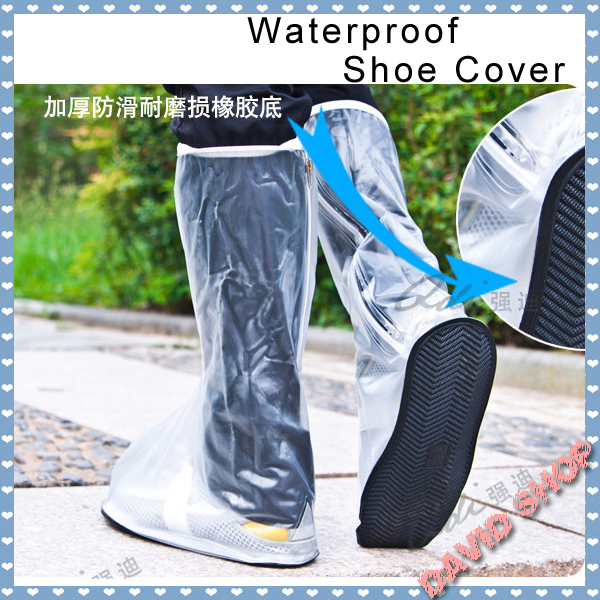 Boots waterproof shoes cover attached skates rain rainboots set dykeheel - Tribal dress store