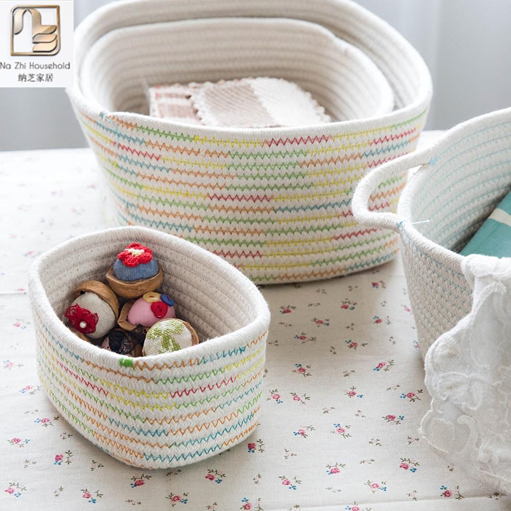 Корзины для хранения вязания