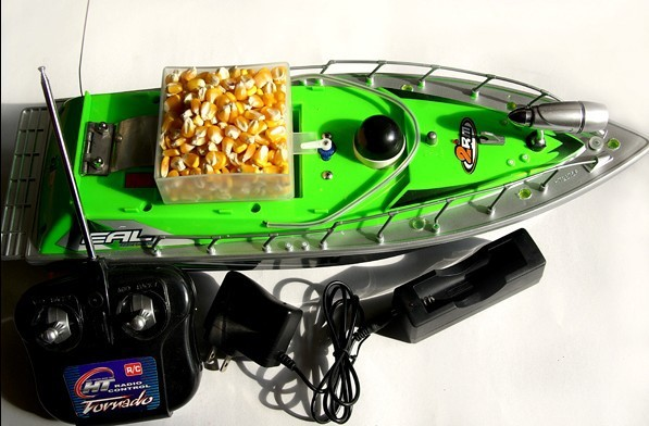2015 New item F2-3S RC bait boat working time 9 hours +car charger with 3PCS batteries(China (Mainland))