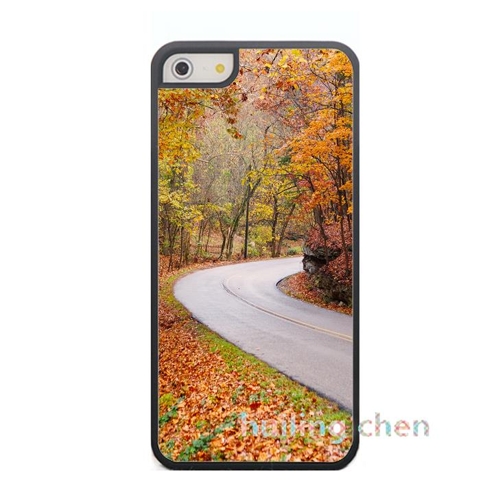 country road fashion original cell phone case cover for iphone 4 4S 5 5S SE 5C 6 6S 6plus & 6s Plus #4217(China (Mainland))