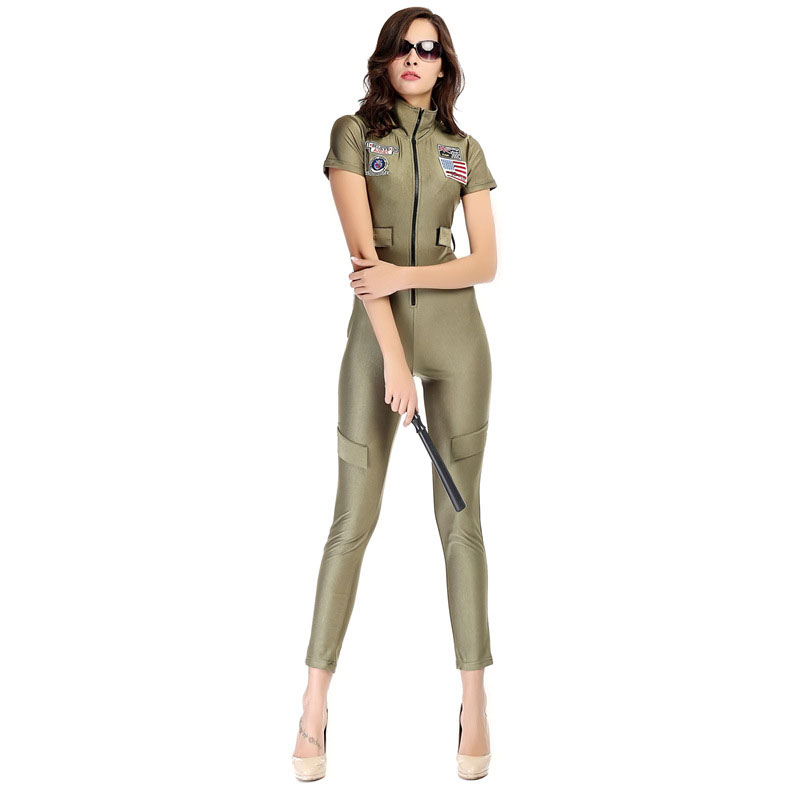 American Police Costume Adult Halloween Costumes for Women Fantasia Cosplay Party Fancy Dress(China (Mainland))