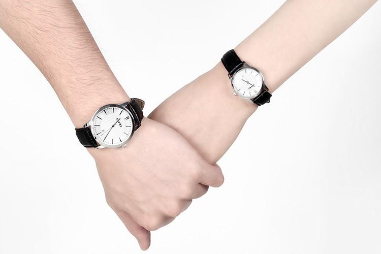 Hot sale Brand EIKY 10M Waterproof  leather cute love watch diamond Lady Watch for Woman Quartz Watch 8608