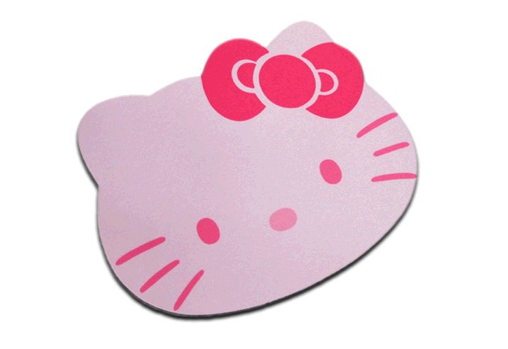 For KT mouse pad cartoon mouse kt mouse pad lovers(China (Mainland))