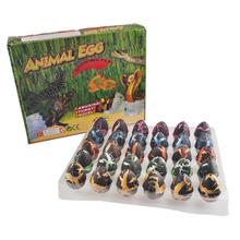 1set 30pcs large size 3x5cm Novel Water Hatching Inflation baby kids animal Dinosaur Egg Grow toy child Educational Jokes Toys(China (Mainland))