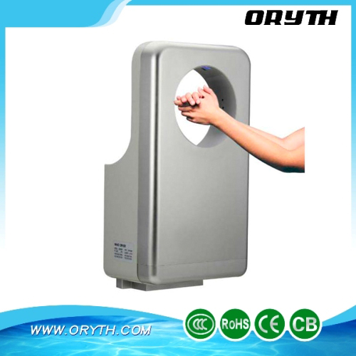 Hot sales Circular Perfume High Speed Jet Clean Hand Dryer, three sided airflow, airspeed adjustable, energy saving th-9988h!!!(China (Mainland))