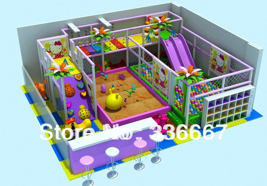 Kids Indoor Play Equipment Slides