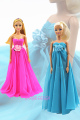NEW 1 Set Outfit Princess Handmade cute Costume Stunning Lace Veil for Barbie Doll Youngsters Ladies BEST Reward Child Toys 1C-086C-Y