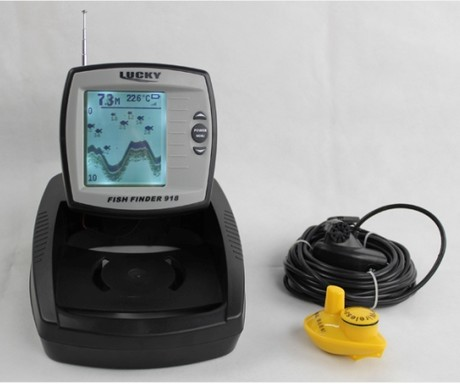 эхолот lucky ff918-180w portable купить в спб